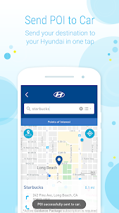 screenshot of MyHyundai with Blue Link version 4.2.18