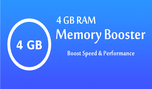 screenshot of 4 GB RAM Memory Booster version 5.2.8