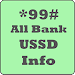 *99# All Bank USSD Info