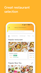 screenshot of 99 Food – Food Delivery version 1.2.0