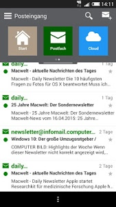screenshot of AHAUS.NET - Stadtnetz Ahaus version 2.7.5.6