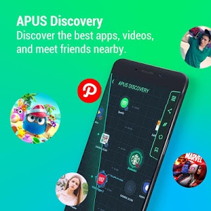 screenshot of APUS Launcher - Theme, Wallpaper, Boost, Hide Apps version 3.5.5