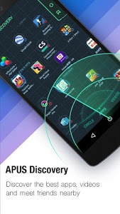 screenshot of APUS Launcher - Themes, Boost version 3.0.5