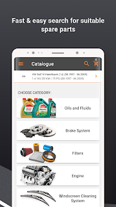 screenshot of AUTODOC — Auto Parts at Low Prices Online version 1.7.8