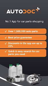 screenshot of AUTODOC — Auto Parts at Low Prices Online version 1.7.5