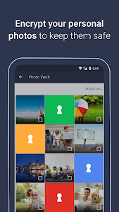 screenshot of AVG AntiVirus 2019 for Android Security Free version Varies with device
