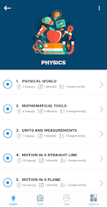 screenshot of Aakash iTutor Learning App - NEET/JEE & Class 8-10 version 7.0.0