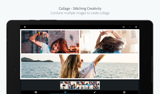 screenshot of Adobe Photoshop Express:Photo Editor Collage Maker version 6.0.590