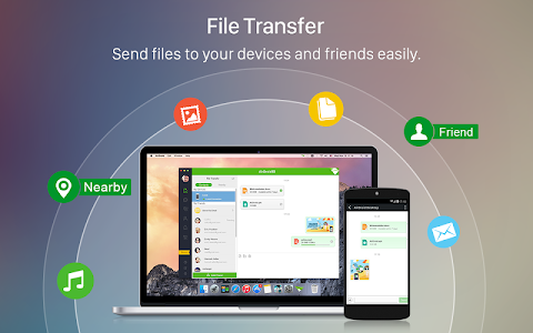 screenshot of AirDroid: File Transfer/Manage version 3.2.1.1
