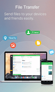 screenshot of AirDroid: Remote access & File version 4.1.8.0