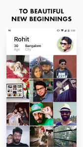 screenshot of Aisle — Dating App for Indians version Varies with device