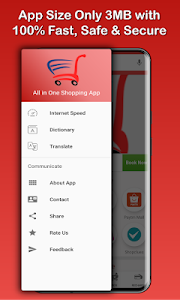 screenshot of All in One Shopping App 5000+ Online Shopping Apps version 9.0.10