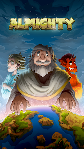 screenshot of Almighty: God Idle Clicker version 1.40.7
