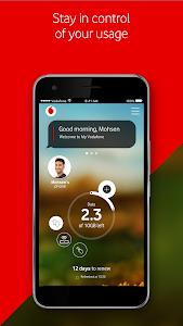 screenshot of Ana Vodafone version 6.7.3