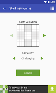 screenshot of Andoku Sudoku 3 version 1.9.9.1