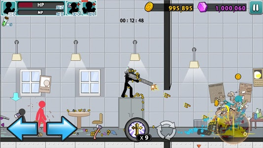 screenshot of Anger of stick 5 : zombie version 1.1.8