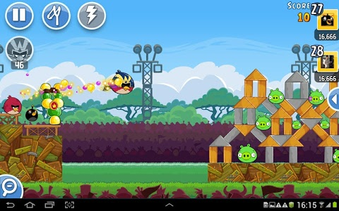 screenshot of Angry Birds Friends version 2.1.3