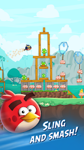 screenshot of Angry Birds Friends version 5.0.1