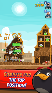 screenshot of Angry Birds Friends version 3.1.0