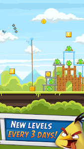 screenshot of Angry Birds Friends version 3.6.0