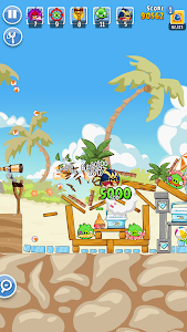 screenshot of Angry Birds Friends version 5.4.0