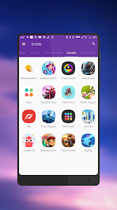 screenshot of Aspire UX S8 - Icon Pack version 1.9.0