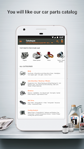 screenshot of Autodoc — High Quality Auto Parts at Low Prices version 1.2.5