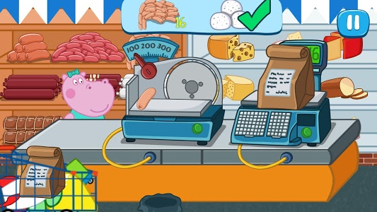 screenshot of Kids Supermarket: Shopping mania version 1.1.0