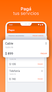 screenshot of Banco Galicia version 6.16.29