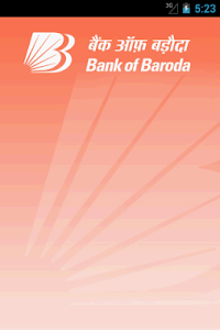 screenshot of Bank of Baroda M-Connect version 4.3.6