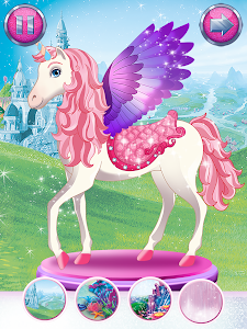 screenshot of Barbie Magical Fashion version 2.1