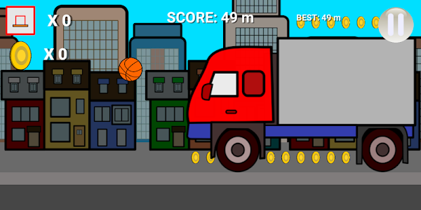screenshot of Basketball Trip version 1.7