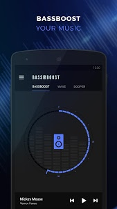 screenshot of Bass Booster - Music Sound EQ version Varies with device