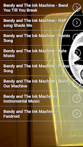 screenshot of Bendy Song Ringtones version 2.0