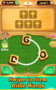 screenshot of Bible Word Puzzle - Free Bible Word Games version 2.11.14