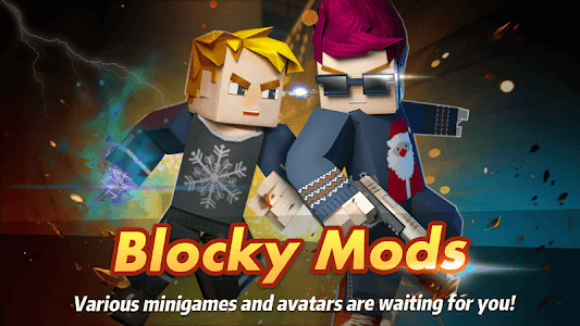 screenshot of Blocky Mods : Multiplayer Games version 1.2.3