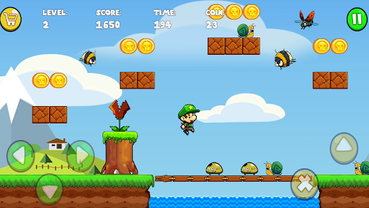 screenshot of Bob's World - Super Adventure version 1.66