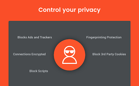 screenshot of Brave Privacy Browser: Fast, free and safe browser version 1.0.98