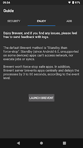 screenshot of Brevent version 3.8.2.4