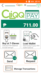 screenshot of CLiQQ by 7-Eleven version 29.0.1.18
