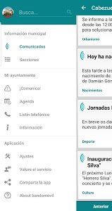screenshot of Cabezuela Informa version 7.0.0
