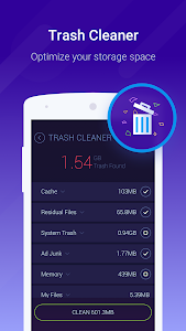 screenshot of Cache Cleaner-DU Speed Booster (booster & cleaner) version 3.1.7.1