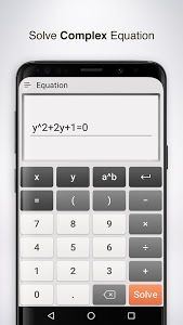 screenshot of Calculator Pro version 2.0.01