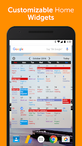 screenshot of Calendar+ Schedule Planner App version 1.08.33