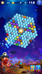 screenshot of Captain Bubble - Spin And Shoot version 1.01