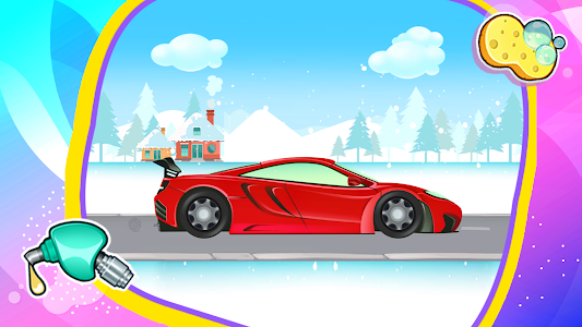 screenshot of Roleplay Car Games: Clean Car Wash, Drive and Play version 1.7