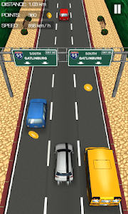 screenshot of Car Traffic Race version 2