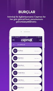 screenshot of Cepmax version 2.2.0