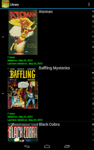 screenshot of Challenger Comics Viewer version Varies with device