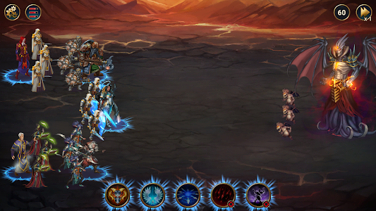 screenshot of Chaos Lords Tactical RPG-mobile legendary PvE game version 1.10.0